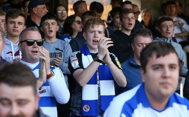 Reading supporters