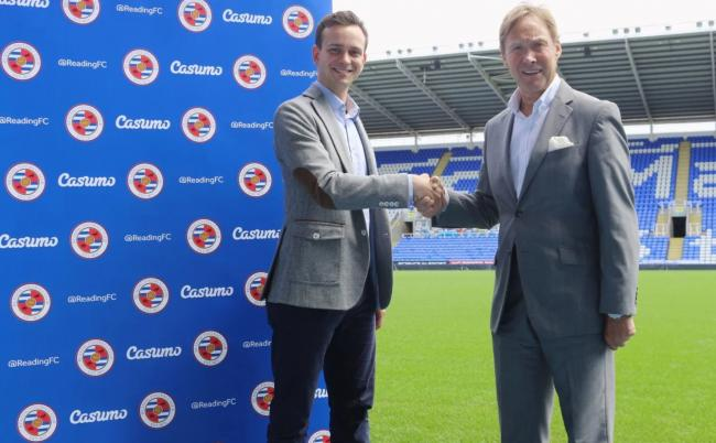 Reading FC have unveiled a new sponsorship deal with Casumo