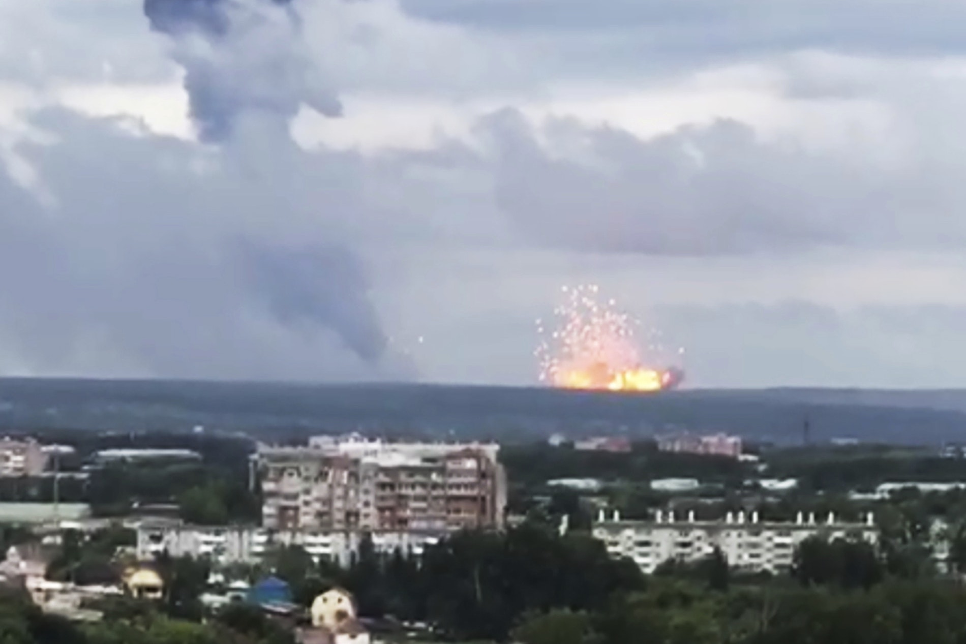 Thousands Evacuated After Explosions At Russian Military Base In Eastern Siberia Reading Chronicle