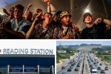Reading Festival: Traffic and travel during the town's biggest event