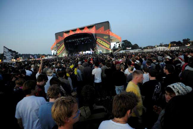 Reading Festival is taking place this Bank Holiday weekend