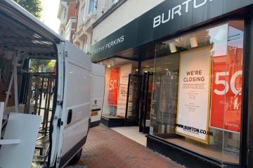 Burton closure: Reading store closes doors today