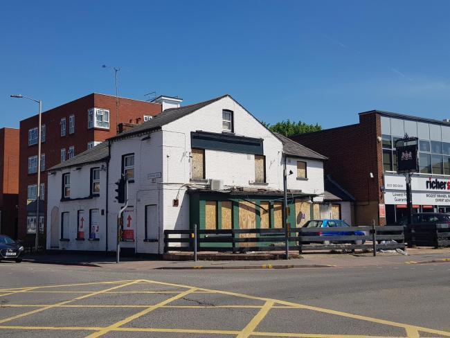 The Battle Inn on the corner of Oxford Road and Bedford Road
