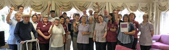 St Lukes Care Home in Caversham has been rated overall as 'Outstanding'