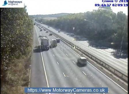 M4 accident: Lanes reopen after crash between Reading and