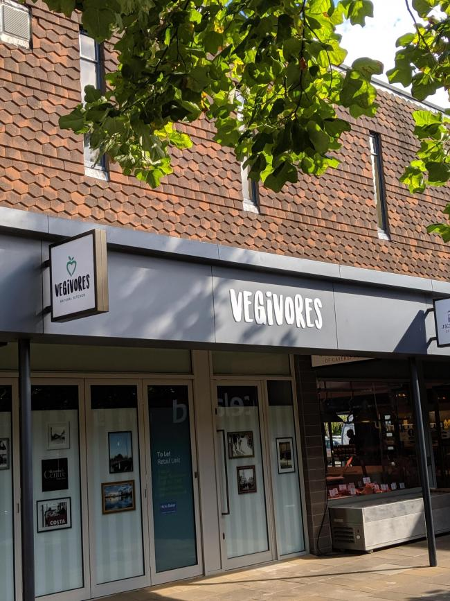 Vegivores will be situated in St Martin's Precinct in Caversham