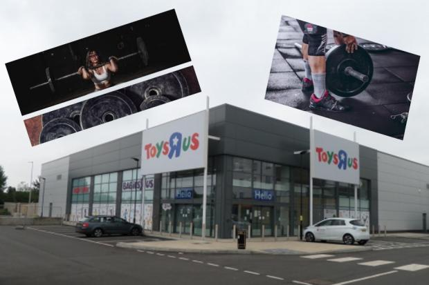 The former Toys R Us in south Reading could become a huge gym