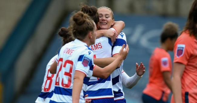 Reading Women beat Everton 3-2