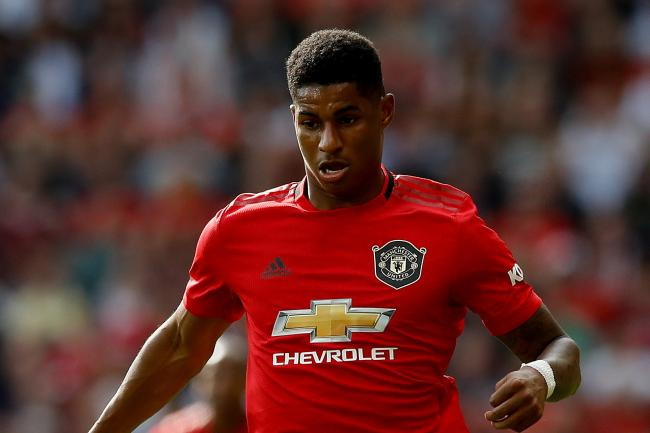 Marcus Rashford hopes Manchester United can build on their draw with Liverpool