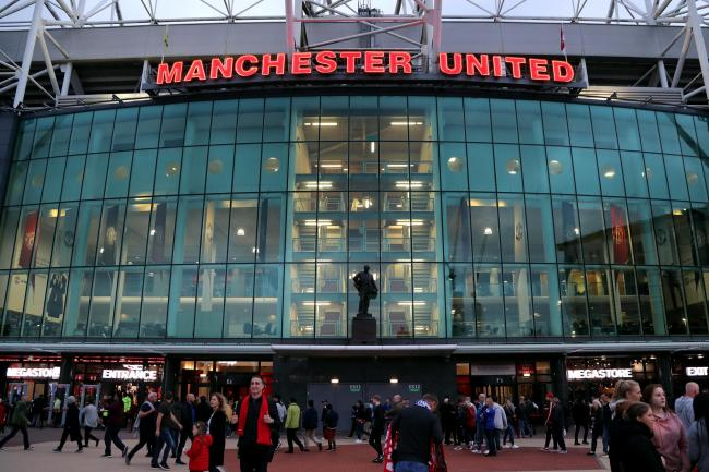 A fan was ejected from Old Trafford for alleged racism