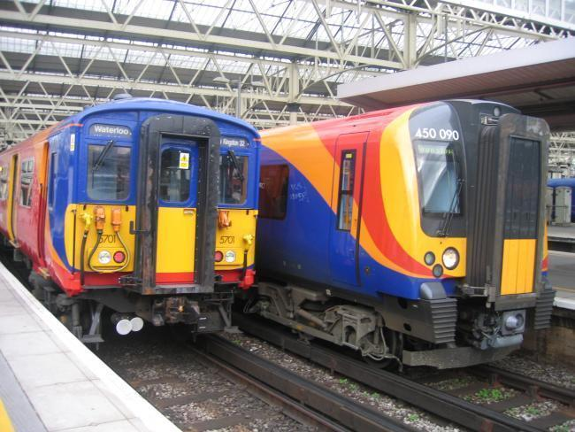 Disruption after person hit by train