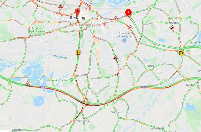 Drivers delayed on the M4 after crash