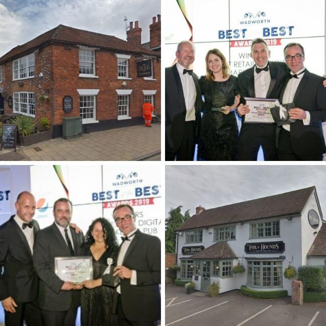 The two pubs have won awards