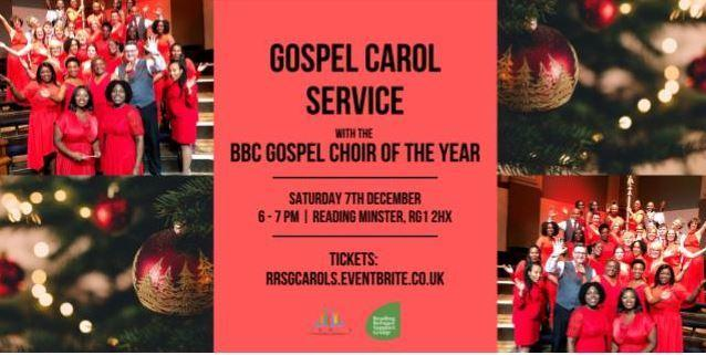 The carol service will be held on December 7