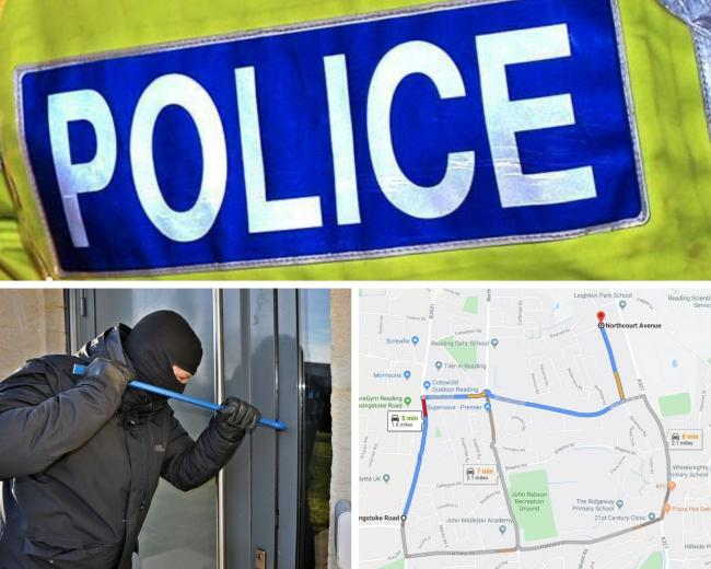Police say there is a 'rise' in burglaries as FIVE reported in Whitley