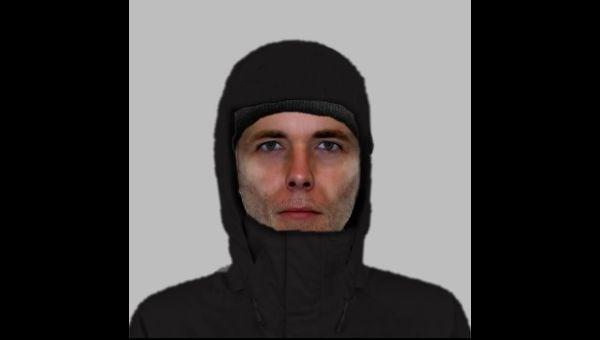 E-fit of man wanted in connection with burglary
