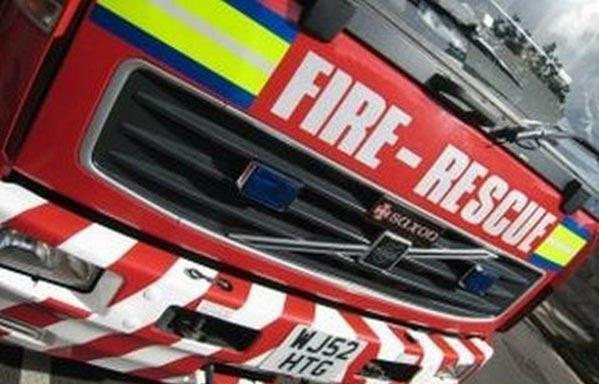 Fire found to have spread from car to home in Caversham.