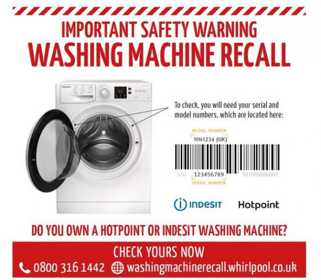 Some machines are being recalled