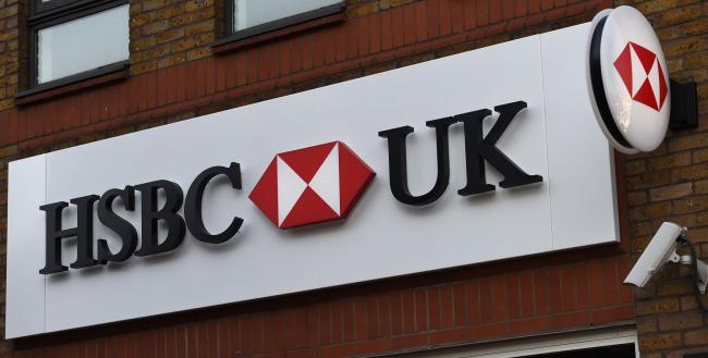 HSBC. Picture: Charlotte Ball/PA Wire