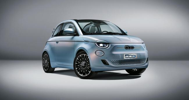 The new Fiat 500