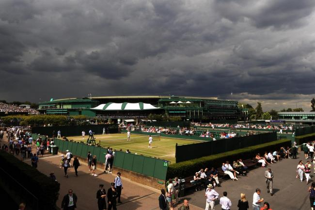 Dark clouds are gathering over the All England Club