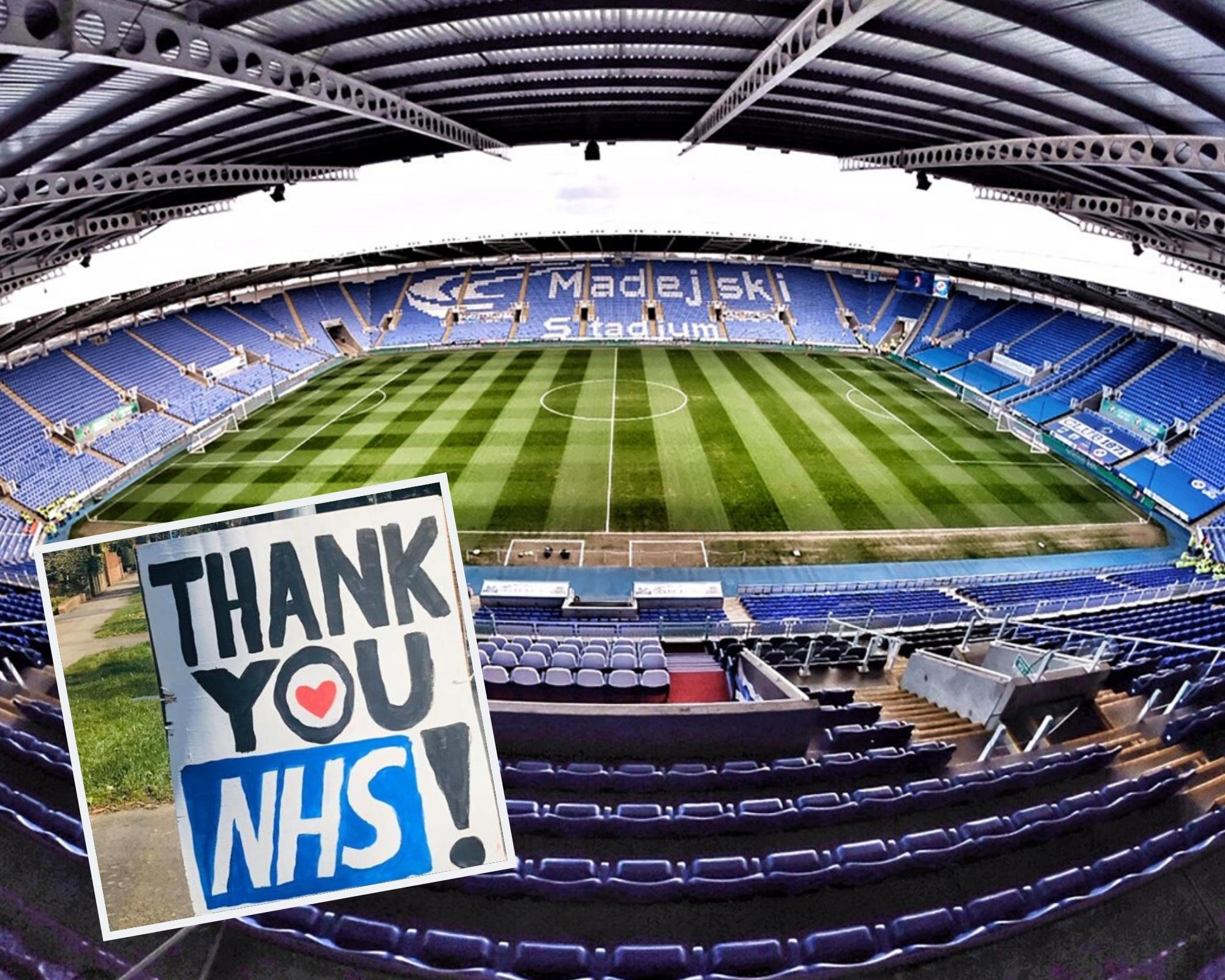 Reading FC offers free tickets to NHS staff once football resumes