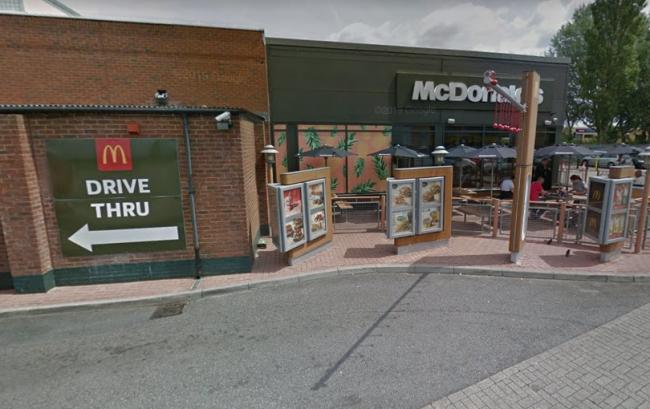 McDonald's at Reading Gate retail park