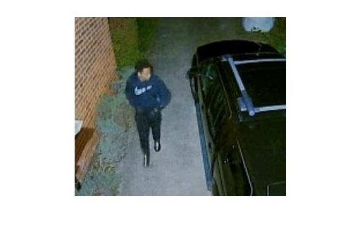 CCTV image released after bike stolen from garage