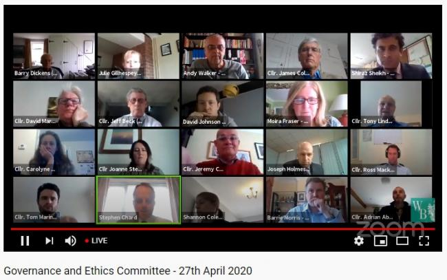 The governance and ethics meeting