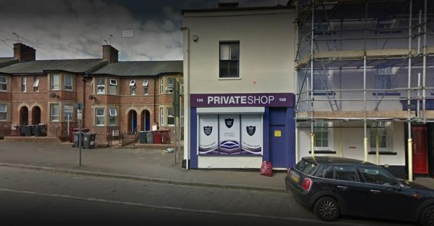 Reading Chronicle: Private shop