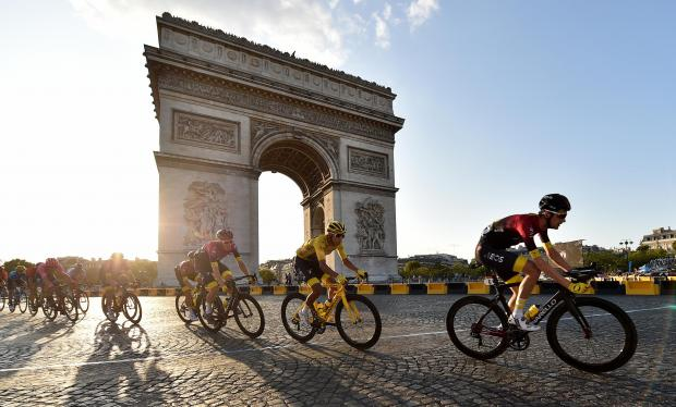 Reading Chronicle: Tour de France. Picture: PA Wire