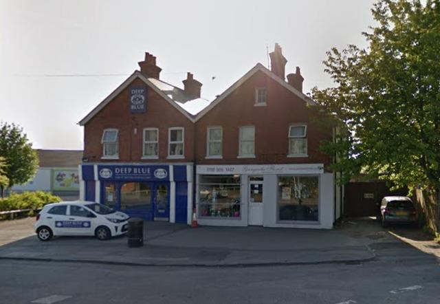 Former florists set to become Islam teaching centre. Photo from Google Street View