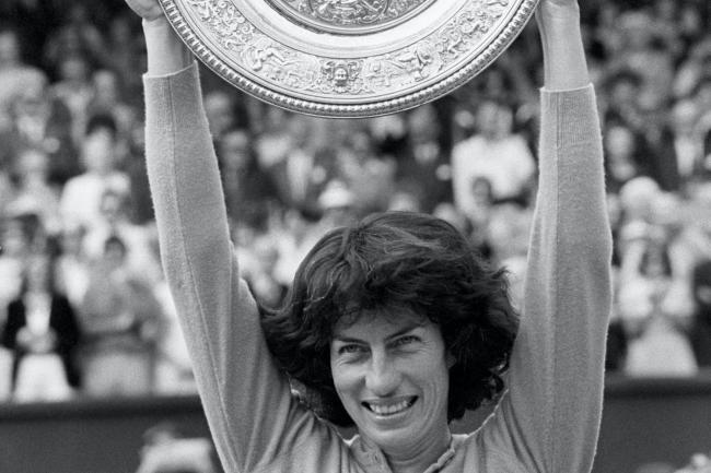 Tennis – Wimbledon Championships – Ladies' Singles – Final – Virginia Wade v Betty Stove