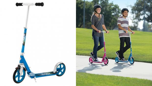 Reading Chronicle: Get scootin' around your neighbourhood with this deluxe Razor. Credit: Razor