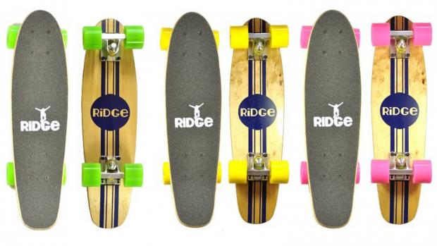 Reading Chronicle: Whether you're learning to skate for the first time or returning to the habit, this board is a great way to do it. Credit: Ridge Skateboards / Amazon