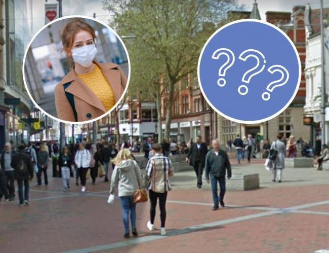 Reading town centre - should masks be made mandatory in shops?