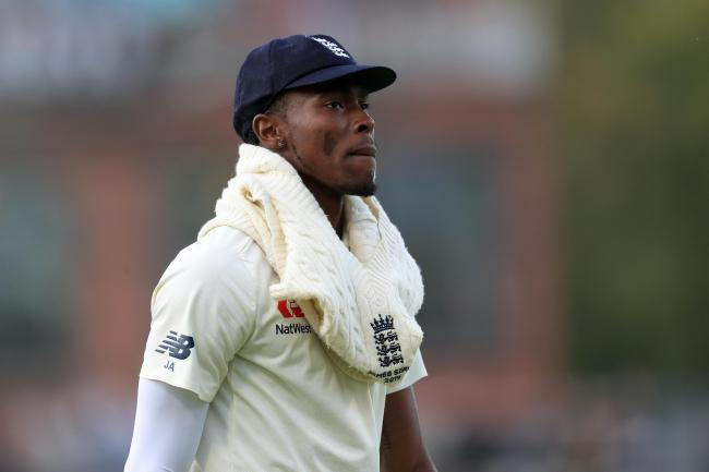 Jofra Archer has been dropped for the second Test at Old Trafford