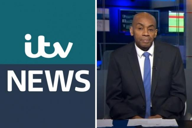 Tony Morris: ITV News and former BBC presenter dies at 57. Pictures: ITV