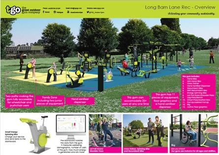 Winning designs for new outdoor gym and BMX Track