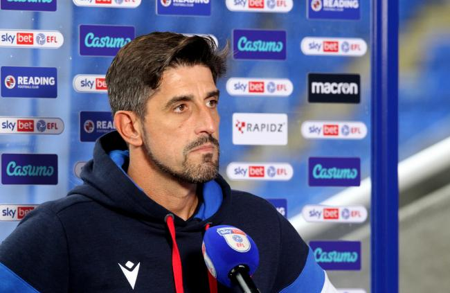 Reading FC boss Veljko Paunovic speaks after Rotherham win