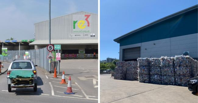 Re3 Longshot Lane and Smallmead Recycling Centres: Tips will be open for different times.