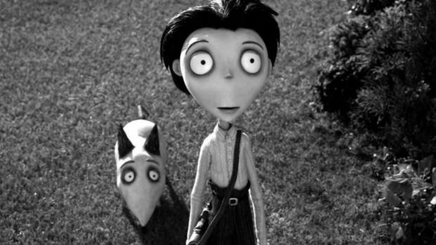 Reading Chronicle: This Tim Burton film is a clever twist on the classic Frankenstein story. Credit: Walt Disney Picture