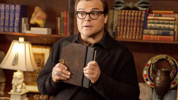 Reading Chronicle: Jack Black plays R.L. Stine in this imagining of what would happen if all of the Goosebumps books came alive at once! Credit: Columbia Pictures
