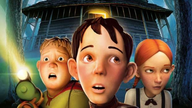 Reading Chronicle: Three kids must destroy a house, at first just seems creepy, but it's actually alive! Credit: Columbia Pictures