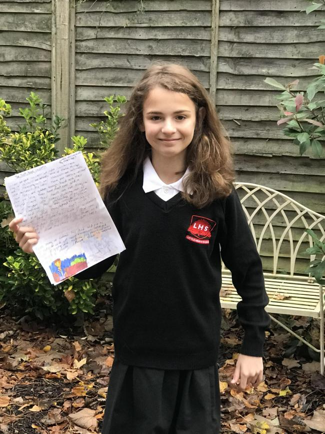 Pupil wins short story competition