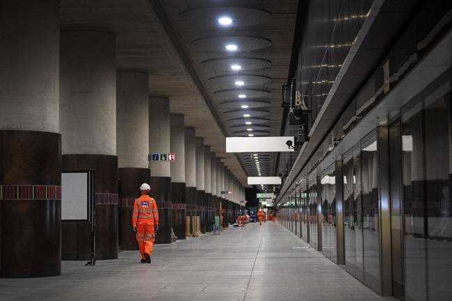 The troubled Crossrail line, from Berkshire to Essex via central London, was originally expected to open in December 2018. Pic by: Victoria Jones/PA Wire.