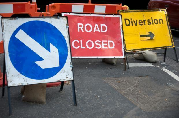 Roadworks to avoid this weekend