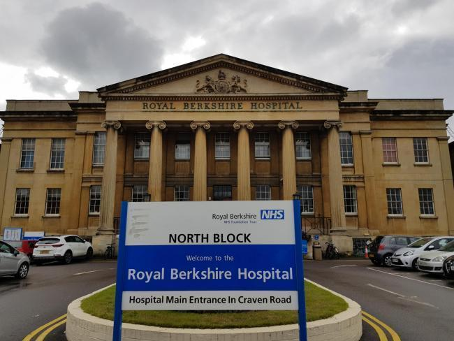 PICTURED: The Royal Berkshire Hospital