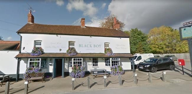 PICTURED: The Black Boy pub