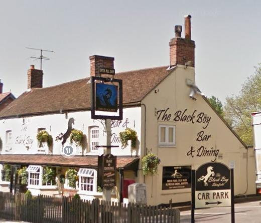 Reading Chronicle: The Black Boy pub